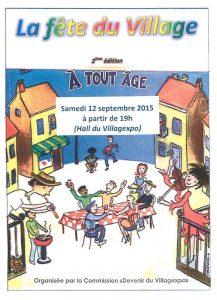 Villagexpo - La fete du village 2015 - Estelle Savard