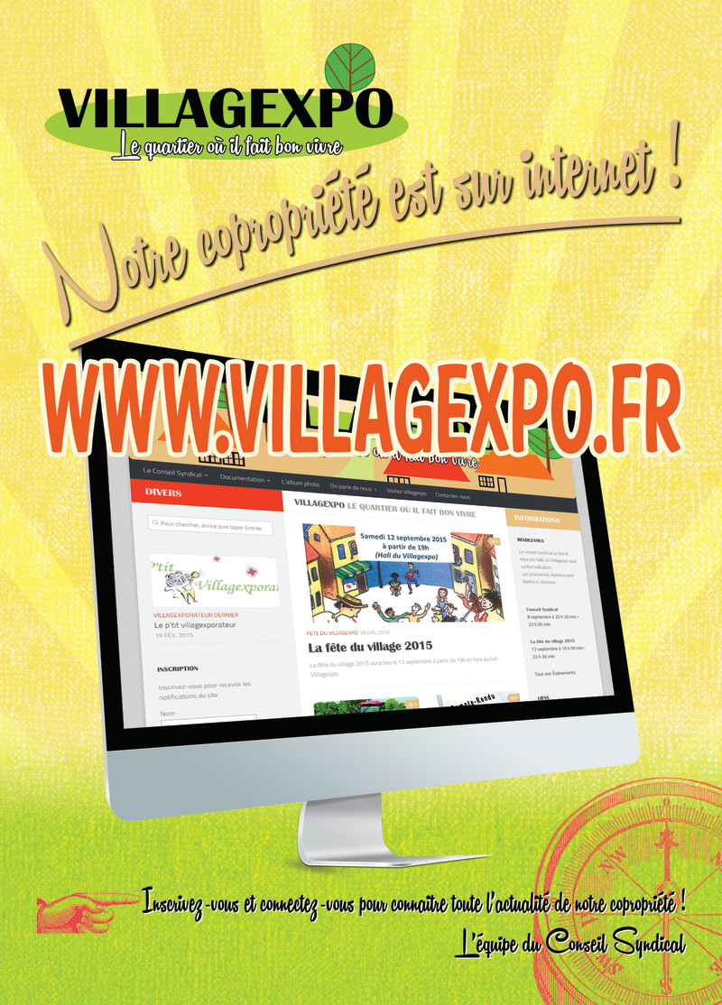 villagexpo - sur internet - 2015
